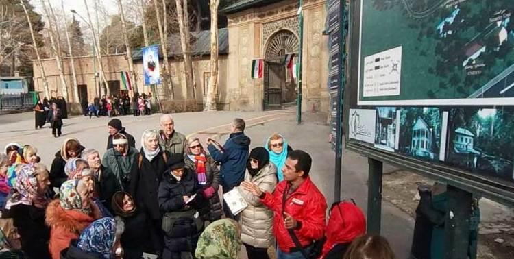 Tourist guide in Tehran, Iran